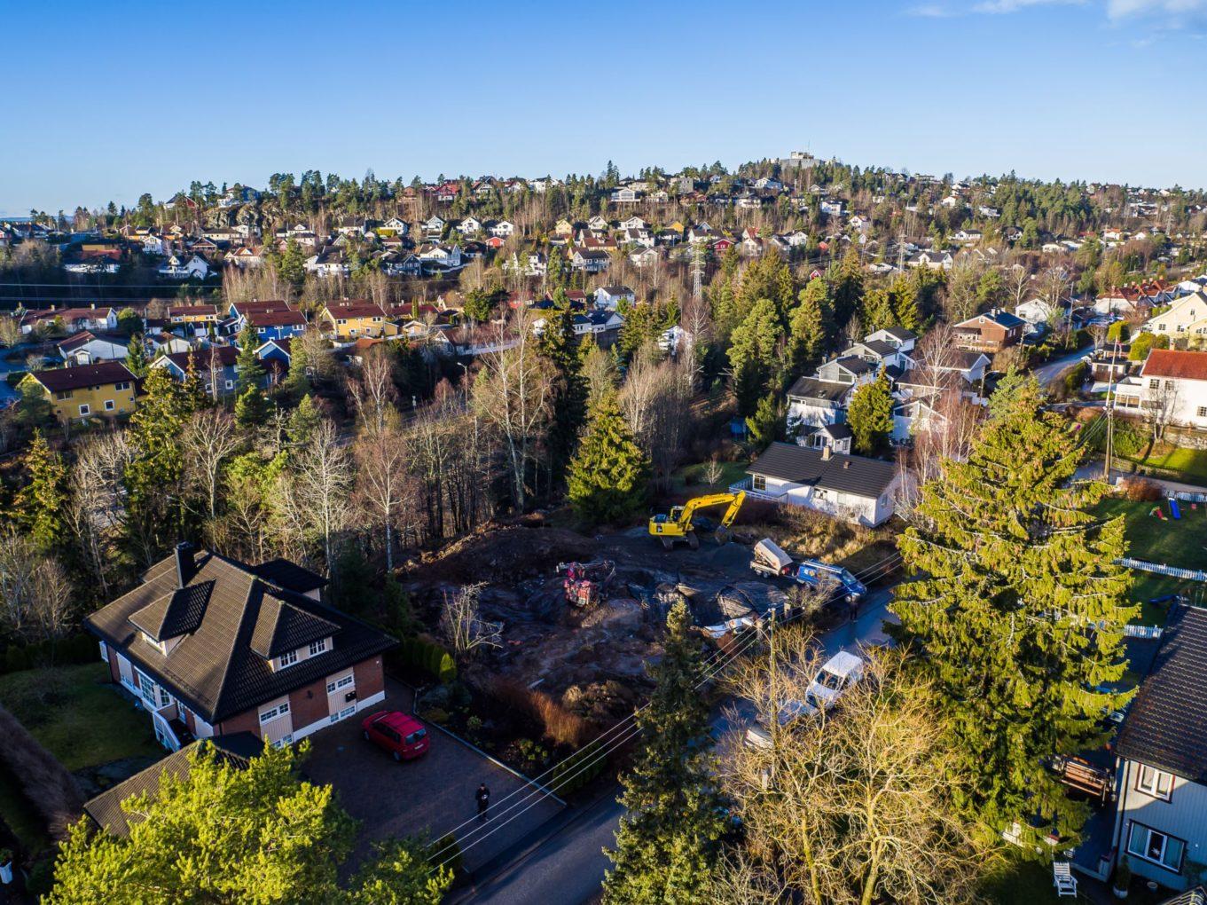 Oversiktsbilde av boligområde