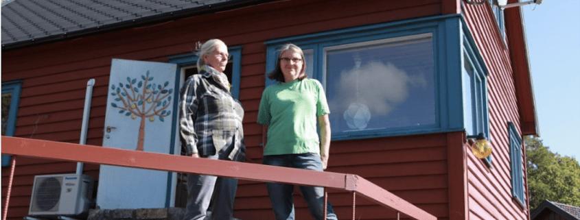 Bilde av de tidligere eierne av Storrud på Elle