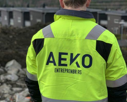 Aeko byggeplass