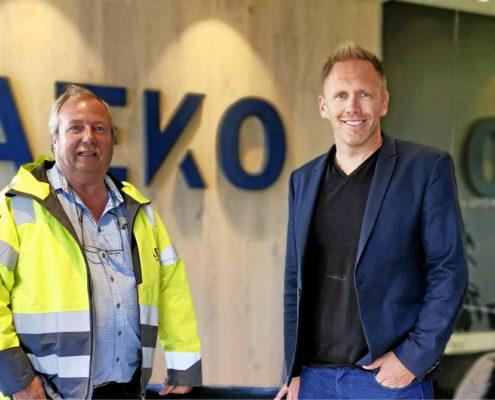 Bjørn Ole Hansen og Arne Erik Rønningen